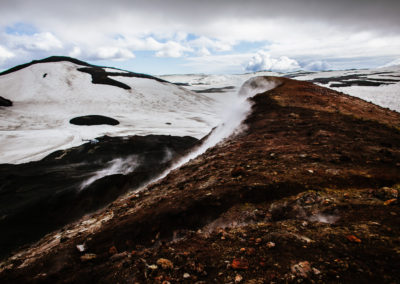 From atop Eyjafjallajökull