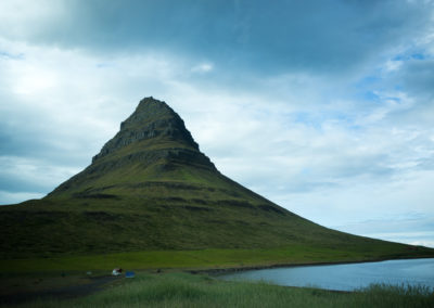 Church mountain,  the most photographed mountain in Iceland.
